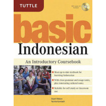 Basic Indonesian: An Introductory Coursebook (MP3 Audio CD Included) by Stuart Robson, 9780804838962