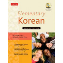 Elementary Korean: (Includes Audio Disc) by Ross King, 9780804844987