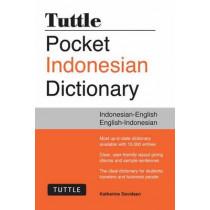 Tuttle Pocket Indonesian Dictionary: Indonesian-English English-Indonesian by Katherine Davidsen, 9780804845083