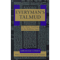 Everyman's Talmud by Abraham Cohen, 9780805210323