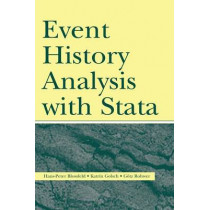 Event History Analysis With Stata by Hans-Peter Blossfeld, 9780805860474