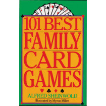 101 BEST FAMILY CARD GAMES, 9780806986357