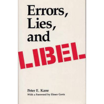 Errors, Lies, and Libel by Peter E. Kane, 9780809317202