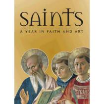 Saints: A Year in Faith and Art by Rosa Giorgi, 9780810954991