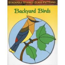Backyard Birds: Stained Glass Patterns by Sandy Allison, 9780811713429