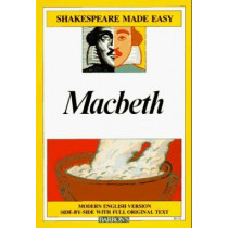 Macbeth: Modern English Version Side-by-Side with Full Original Text by William Shakespeare, 9780812035711