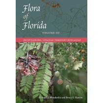 Flora of Florida, Volume III: Dicotyledons, Vitaceae through Urticaceae by Richard P. Wunderlin, 9780813061214