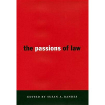 The Passions of Law by Susan Bandes, 9780814713068
