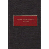 Laws and Writs of Appeal by Charles T. Gehring, 9780815625223