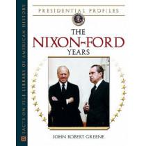 The Nixon-Ford Years by John Robert Greene, 9780816052806
