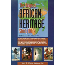 Original African Heritage Study Bible-KJV-Large Print by Cain Hope Felder, 9780817015114