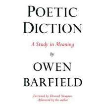 Poetic Diction by Owen Barfield, 9780819560261