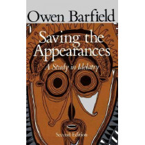 Saving the Appearances by Owen Barfield, 9780819562050