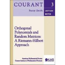 Orthogonal Polynomials and Random Matrices: A Riemann-Hilbert Approach, 9780821826959