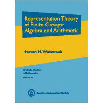 Representation Theory of Finite Groups: Algebra and Arithmetic, 9780821832226