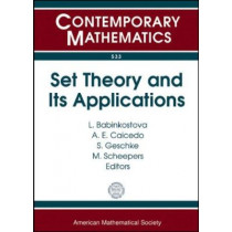 Set Theory and Its Applications by A. E. Caicedo, 9780821848128