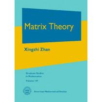 Matrix Theory by Xingzhi Zhan, 9780821894910