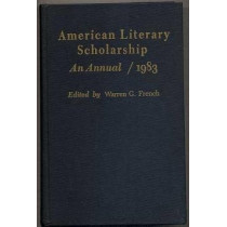 American Literary Scholarship: An Annual: 1983 by Warren French, 9780822306405