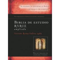 Biblia de Estudio Ryrie Ampliada-Rvr 1960 by Charles Ryrie, 9780825418167
