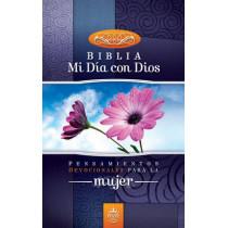 Santa Biblia-RVR 1960: Mi Dia Con Dios: Pensamientos Devocionales Para la Mujer by Zondervan, 9780829757521