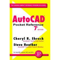AutoCAD Pocket Reference by Cheryl R. Shrock, 9780831135966