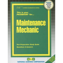 Maintenance Mechanic: Passbooks Study Guide by Jack Rudman, 9780837313573