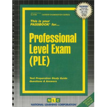 Professional Level Exam (PLE): Passbooks Study Guide by National Learning Corporation, 9780837321042