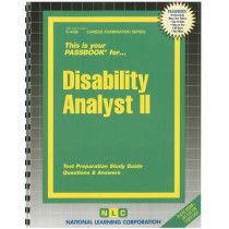 Disability Analyst II: Passbooks Study Guide by National Learning Corporation, 9780837344386