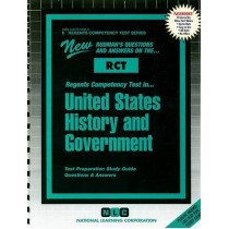 UNITED STATES HISTORY AND GOVERNMENT: Passbooks Study Guide by National Learning Corporation, 9780837364063
