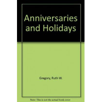 Anniversaries and Holidays, 9780838903896