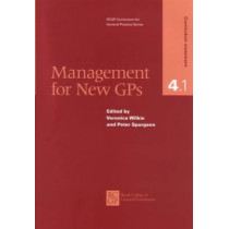 Management for New GPs by Veronica Wilkie, 9780850843194
