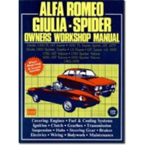 Alfa Romeo 1300, 1600, 1750, 2000 1962-78 Autobook: Easy to Use, Fully Illustrated, Comprehensive Guide to Repair and Maintenance by R M Clarke, 9780851461281