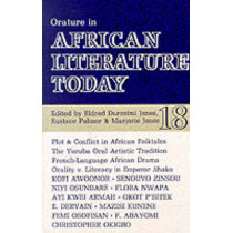 ALT 18 Orature in African Literature Today by Eldred Durosimi Jones, 9780852555187