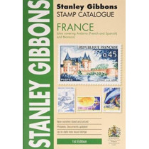 Stamp Catalogue: France (Also Covering Andorra (French and Spanish) and Monaco) - by Stanley Gibbons, 9780852599389