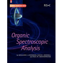 Organic Spectroscopic Analysis by Rosaleen J. Anderson, 9780854044764