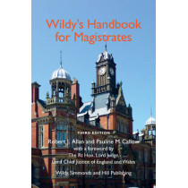 Wildy's Handbook for Magistrates by Robert J. Allan, 9780854901128