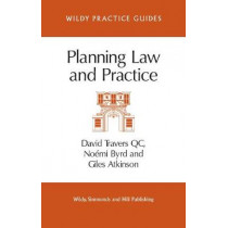 Planning Law and Practice by David Travers, QC, 9780854901159
