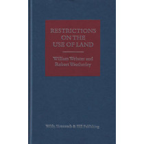 Restrictions on the Use of Land by William Webster, 9780854901975