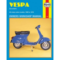 Vespa Scooters (59 - 78) by Haynes Publishing, 9780856961267