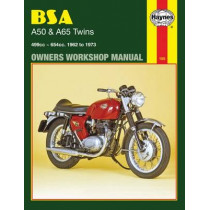 BSA A50 & A65 Twins (62 - 73) by Haynes Publishing, 9780856961557