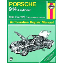 Porsche 914 (4-Cyl) (69 - 76) by J. H. Haynes, 9780856962394