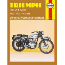 Triumph Pre-Unit Twins (47 - 62) by Haynes Publishing, 9780856962516