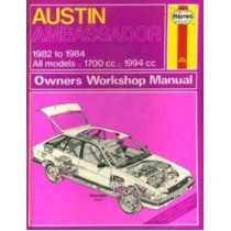 Austin Ambassador by Haynes Publishing, 9780856968716