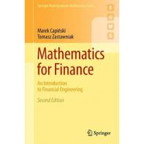Mathematics for Finance: An Introduction to Financial Engineering by Marek Capinski, 9780857290816