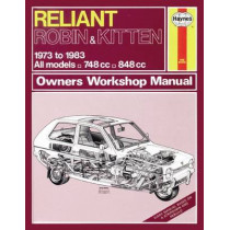 Reliant Robin & Kitten: 73-83 by Haynes Publishing, 9780857335968