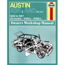 Austin A35/A40 by Haynes Publishing, 9780857336118