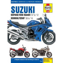 Suzuki GSF650/1250 Bandit & GSX650/1250F (07 - 14) by Phil Mather, 9780857336392