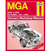 Mga Owner's Workshop Manual by Haynes Publishing, 9780857336453