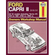 Ford Capri 2.8 & 3.0 by Haynes Publishing, 9780857336941