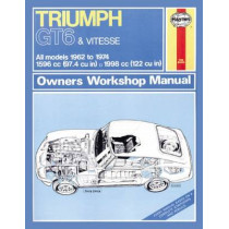 Triumph Gt6 & Vitesse by Haynes Publishing, 9780857336958